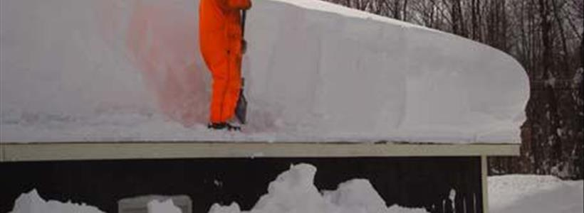Snow Removal on Roofs - Be Careful Who You Hire and How it Impacts Your Claim