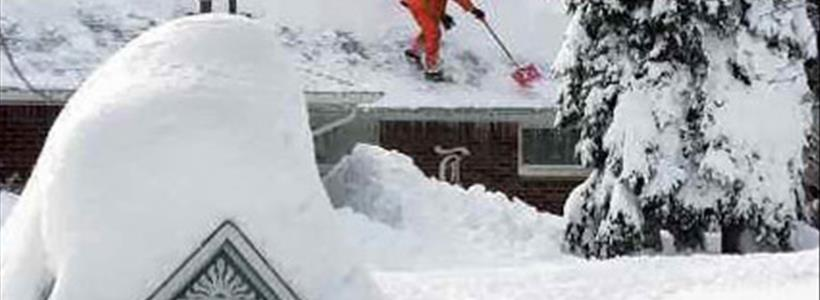 Record snow in Boston may also create a property insurance claims record