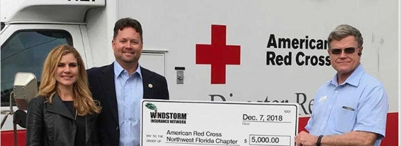 Windstorm Insurance Network Contributes to Hurricane Michael Relief