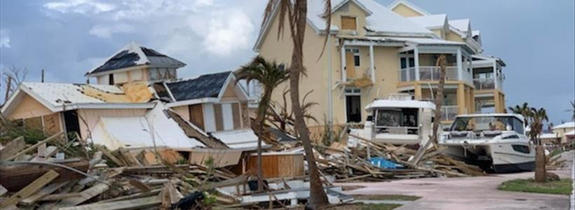 On the Ground for Hurricane Dorian Claims Recovery
